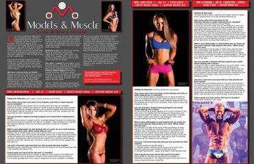 Models and Muscle Natural Bodz