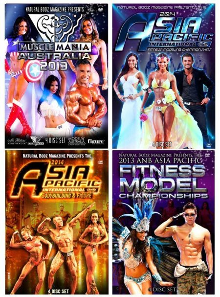 Natural Bodz Productions Event DVDs