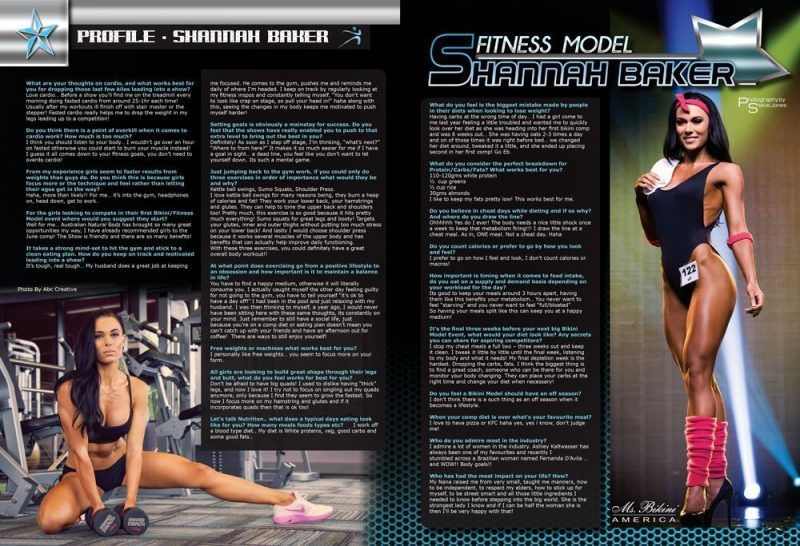 Natural Bodz Magazine Vol 7 Issue 2 Shannah Baker Profile